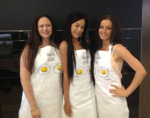 Girlies in Aprons